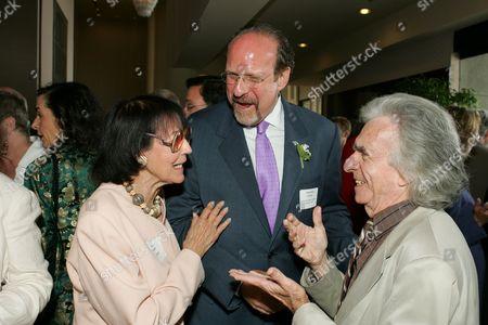 Trustee Faye Kanin, Jonathan Estrin and Arthur Hiller