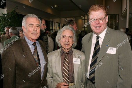 John Furia, Arthur Hiller and Daniel Petrie Jnr of the WGA
