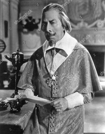 George Arliss on-set of the Film, Cardinal Richelieu, 1935