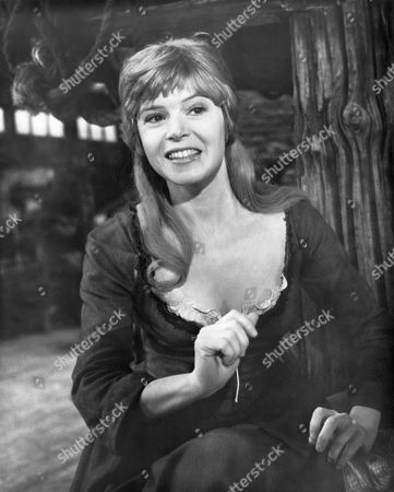 Shani Wallis, on-set of the Film, 'Oliver!', 1968