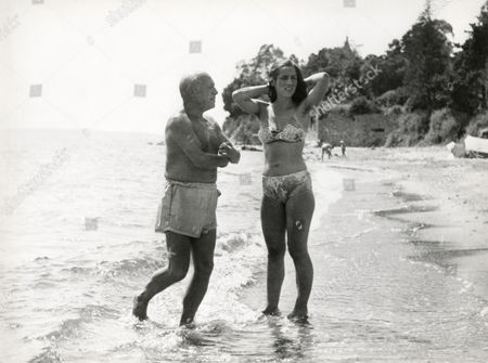 Pablo Picasso with Françoise Gilot, still from 'La vie Commence Demain' (Life Begins Tomorrow), 1950