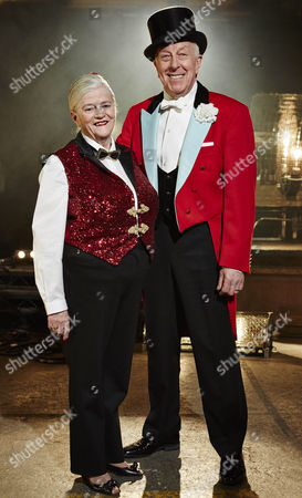 Stock Picture of Ann Widdecombe with mentor Norman Barrett