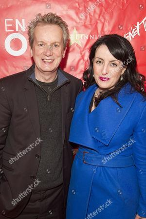 Frank Skinner and Emma Brunjes