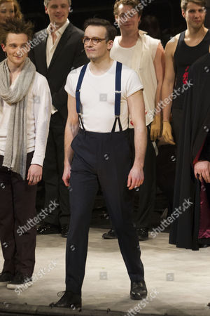 Matthew Seadon-Young (Anthony Hope) during the curtain call