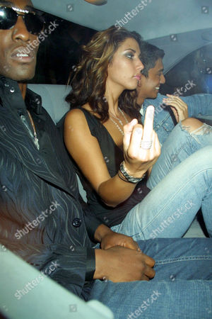 SIMON WEBBE OF BLUE, LEILANI DOWDING AND TIM KASH AT 10 ROOMS