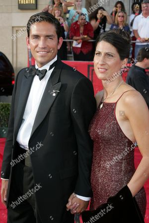 James Caviezel and wife Kerri