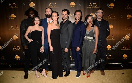 Editorial image of 'A.D. The Bible Continues' Premiere Reception, New York, America - 31 Mar 2015