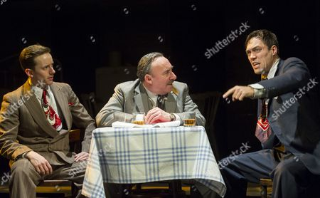 Sam Marks as Happy, Antony Sher as Willy Loman,  Alex Hassell as Biff