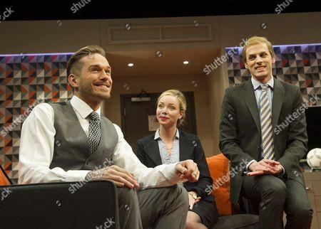 Sean Browne as David Bechkam, Antonia Kinlay as Penny, Tom Davey as Prince William,