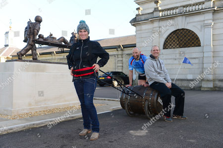 Editorial photo of Bell's Barrel of Laughs challenge, Wiltshire, Britain - 31 Mar 2015