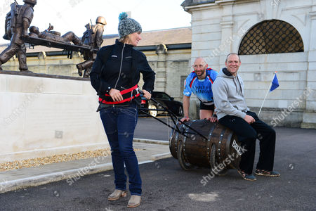 Editorial picture of Bell's Barrel of Laughs challenge, Wiltshire, Britain - 31 Mar 2015
