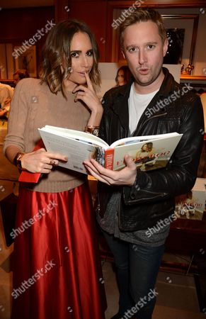 Louise Roe and Dean Piper