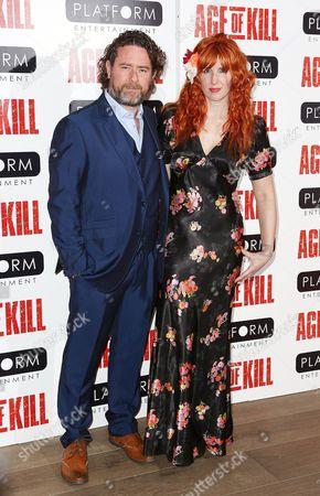 Stock Photo of Sacha Bennett and Marina Fiorato