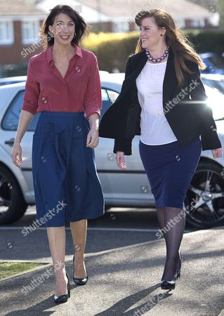 Samantha Cameron and Kelly Tolhurst