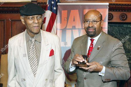 McCoy Tyner and Mayor Michael Nutter