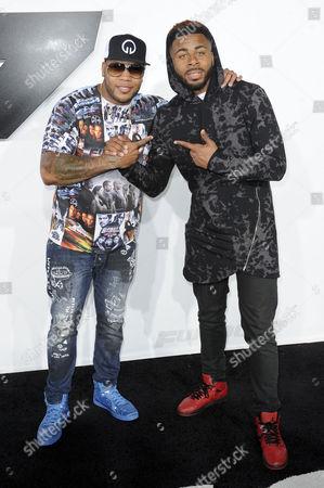 Flo Rida and Sage the Gemini