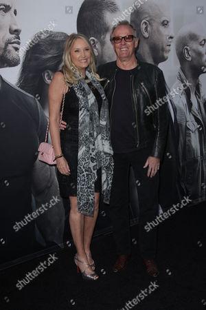 Parky DeVogelaere and Peter Fonda