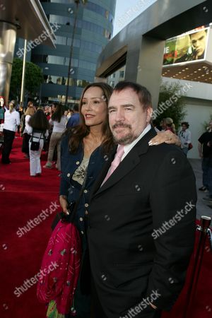 Barbara Carrera and Brian Cox