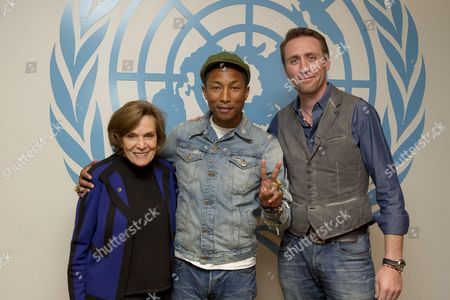Pharrell Williams, and environmental advocates Philippe Cousteau and Sylvia Earle