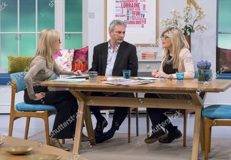 Fiona Phillips with Kevin Maguire and Emma Barnett