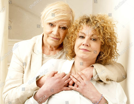 Stock Picture of Actress Emily Lloyd With Her Mother Sheila Hughes.