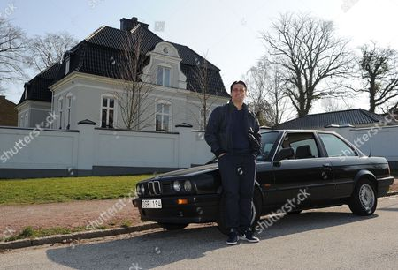 Editorial image of The Z Tour; Tony Flygare An Ex Malmo Football Player And Zlatan Ibrahimovic Boyhood Friend Takes Us Around Where They Grew Up On The Estates Of Malmo. Credit Image: Kevin Quigley/daily Mail/solo Syndication.