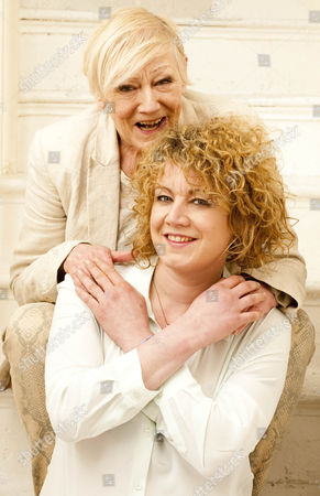 Stock Photo of Actress Emily Lloyd. Femail Special With Her Mother Sheila Hughes.  27.3.14.