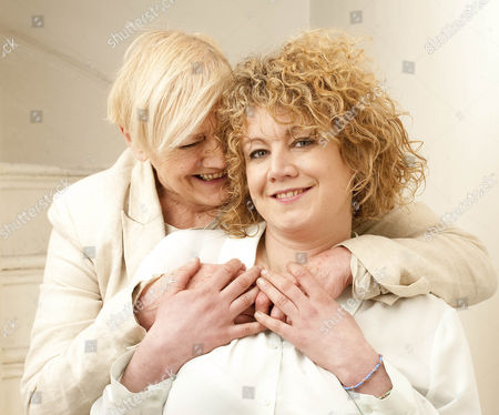 Stock Image of Actress Emily Lloyd. Femail Special With Her Mother Sheila Hughes.  27.3.14.
