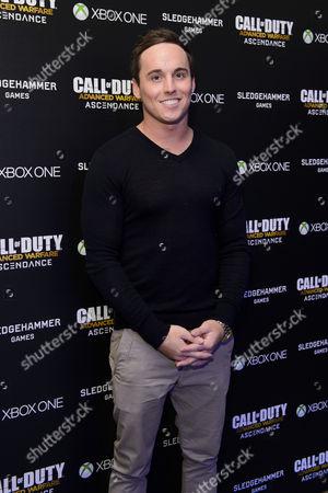 Editorial image of 'Call Of Duty: Advanced Warfare Ascendance DLC' launch, London, Britain - 02 Apr 2015