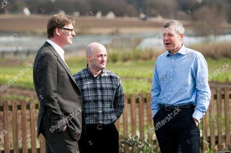 Editorial image of Liberal Democrat party general election campaigning, Queensferry, Scotland, Britain - 02 Apr 2015