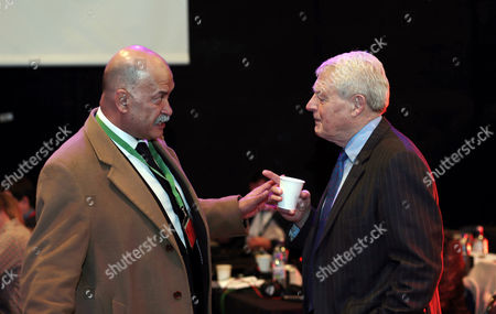 John Pienaar and Paddy Ashdown