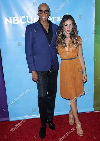 Stock Photo of Rupaul and Sandra Vergara
