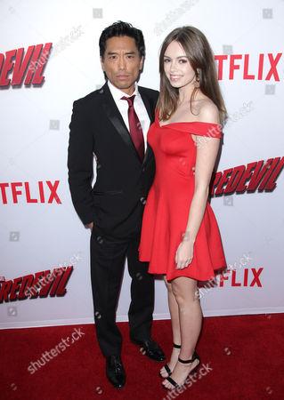 Editorial photo of 'Marvel's Daredevil' TV Season Premiere, Los Angeles, America - 02 Apr 2015