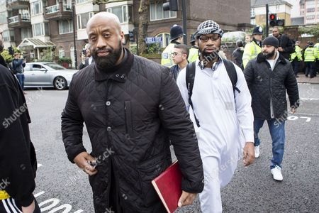 Editorial image of Anjem Choudary anti democracy rally in London, Britain - 03 Apr 2015