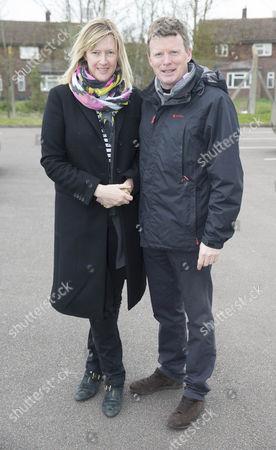 Richard Benyon MP and wife Zoe