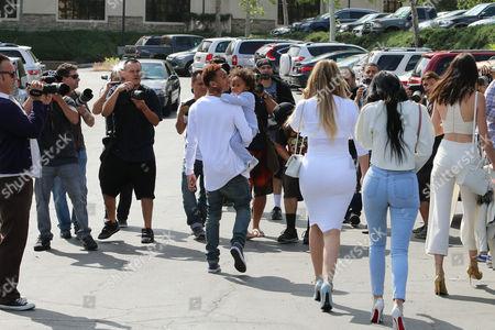 Tyga and King Cairo Stevenson, Kendall Jenner, Khloe Kardashian, Kylie Jenner