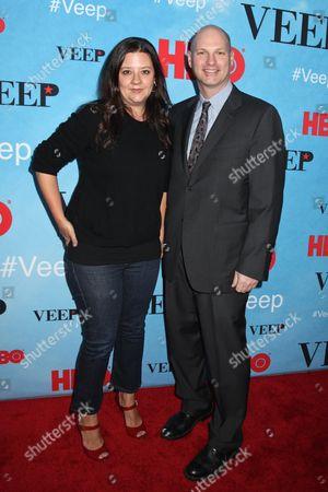 Stock Image of Stephanie Laing and Christopher Godsick, producers