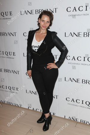 Editorial image of Lane Bryant 'ImNoAngel' campaign launch, New York, America - 06 Apr 2015