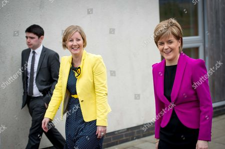 Hannah Bardell and Nicola Sturgeon