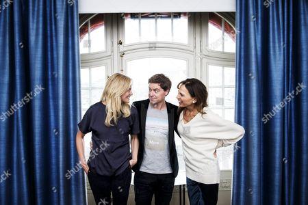 Josephine Bornebusch, Greg Poehler and Lena Olin