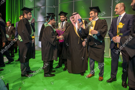 Editorial picture of The Saudi Arabian Cultural Bureau 5th Graduation Ceremony & Career Fair, London, Britain  - 22 Mar 2015