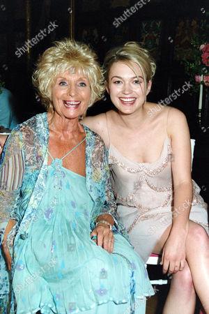 Sylvia Anderson with Sophia Myles