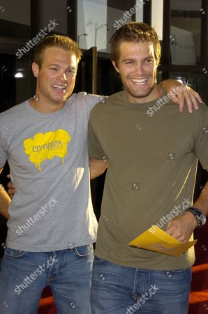 George Stults and Geoff Stults