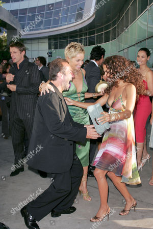 Sharon Stone, Pitof and Halle Berry