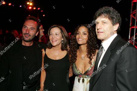 Pitof, Dana Goldberg, Halle Berry and Alan Horn
