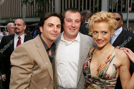 Jason Shuman & William Sherak with Brittany Murphy.