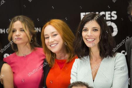 Stock Picture of Paula Cancio, Gracia Querejeta and Maribel Verdu