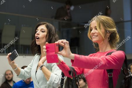 Stock Image of Maribel Verdu and Paula Cancio