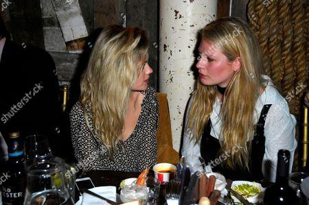 Chloe Hayward with guest