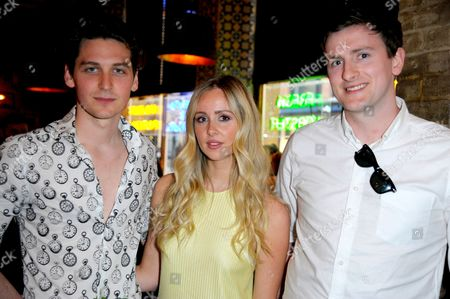 Stock Image of George Craig, Diana Vickers and Terry Edwards